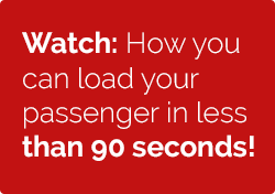 Watch: How you can load your passenger in less than 90 seconds!